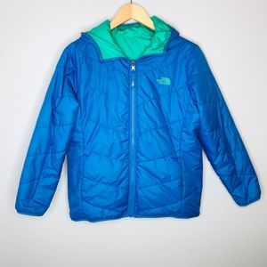 The North Face REVERSIBLE Puffer Hooded Jacket